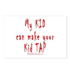 My KID can make your Kid TAP Postcards (Package of