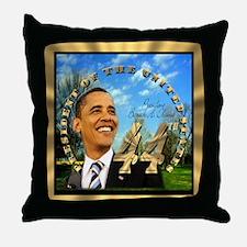 """Obama Inauguration"" Throw Pillow"
