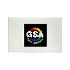 GSA Circle Rectangle Magnet