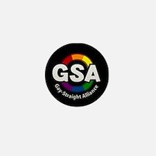 GSA Circle Mini Button (100 pack)