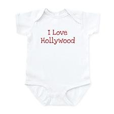 I love Hollywood Infant Bodysuit