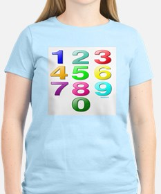 COUNTING/NUMBERS T-Shirt