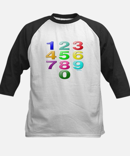 COUNTING/NUMBERS Kids Baseball Jersey