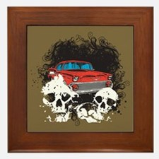 Bel Air Skulls Framed Tile