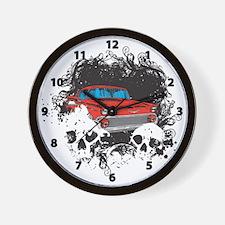 Bel Air Skulls Wall Clock