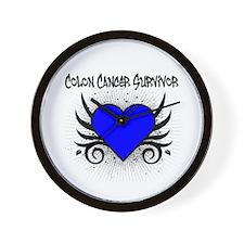 Colon Cancer Survivor Wall Clock