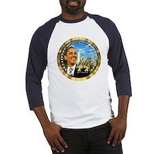 """""""Obama Inauguration"""" Baseball Jersey"""