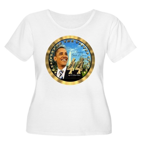 """Obama Inauguration"" Women's Plus Size Scoop Neck"