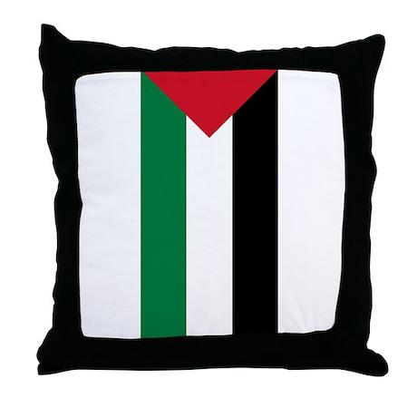 Palestinian Flag Throw Pillow