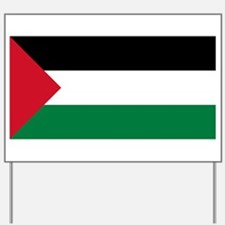 Flag of Palestine Yard Sign