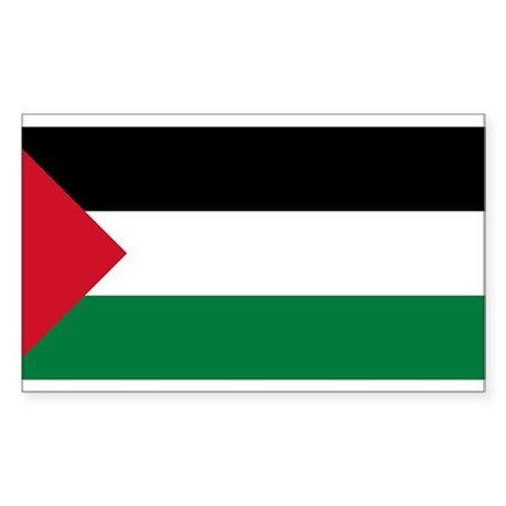 Flag of Palestine Rectangle Sticker