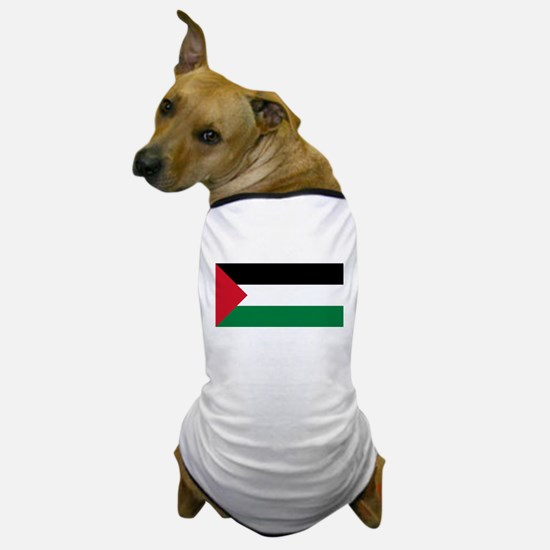 Flag of Palestine Dog T-Shirt