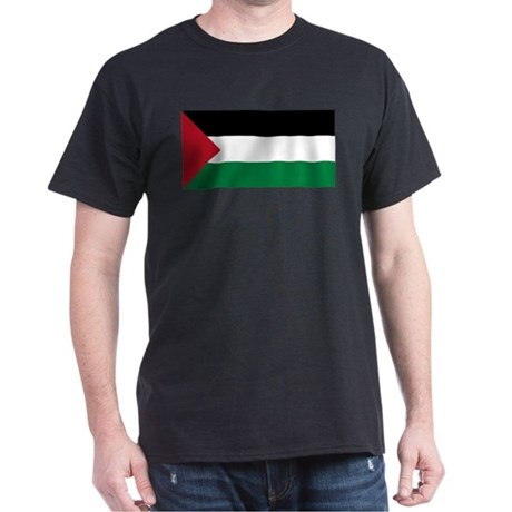Flag of Palestine Dark T-Shirt