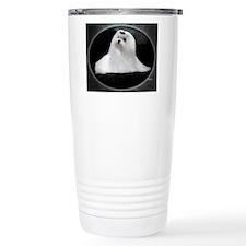 Maltese Dog Travel Mug