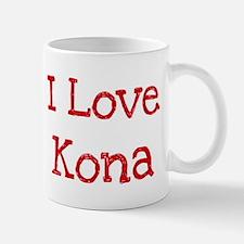 I love Kona Mug