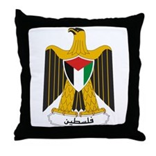Palestinian Coat of Arms Throw Pillow