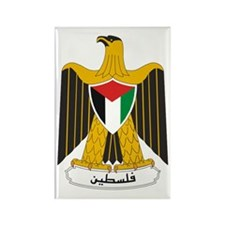 Palestinian Coat of Arms Rectangle Magnet