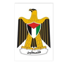 Palestinian Coat of Arms Postcards (Package of 8)