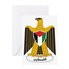 Palestinian Coat of Arms Greeting Card