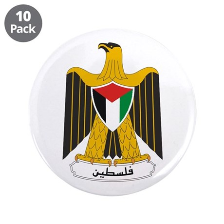 "Palestinian Coat of Arms 3.5"" Button (10 pack)"