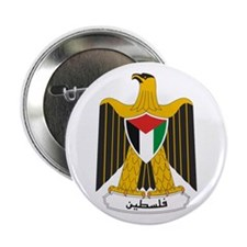 "Palestinian Coat of Arms 2.25"" Button"