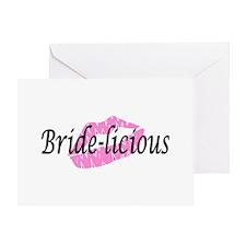 Bridelicious Greeting Card