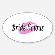 Bridelicious Oval Decal