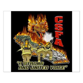 Small CSFA Dragon Poster