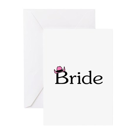 Country Bride Greeting Cards (Pk of 20)