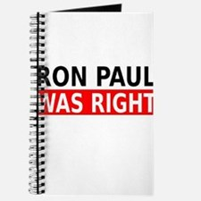 Ron Paul Was Right Journal