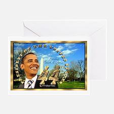 """Obama Inauguration"" Greeting Card"