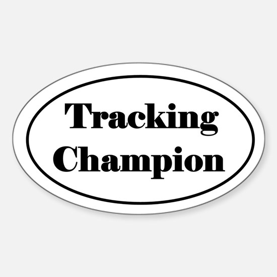 Tracking Champion Decal