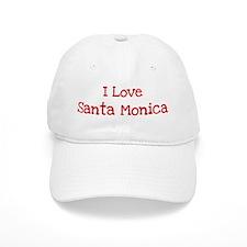 I love Santa Monica Baseball Cap