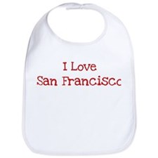 I love San Francisco Bib