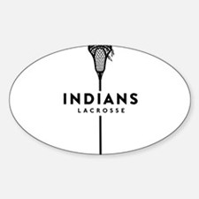 Indians Lacrosse Decal