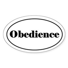 Obedience Decal