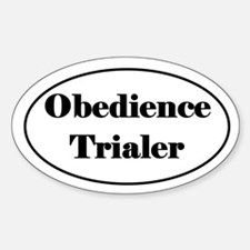 Obedience Trialer Decal