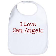 I love San Angelo Bib
