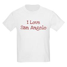 I love San Angelo Kids Light T-Shirt