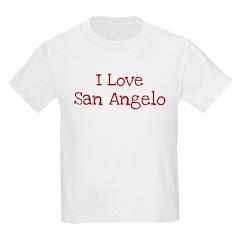I love San Angelo T-Shirt