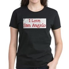 I love San Angelo Women's Dark T-Shirt