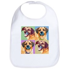 Handsome Hounds Bib
