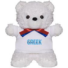 Greek Bride To Be Teddy Bear