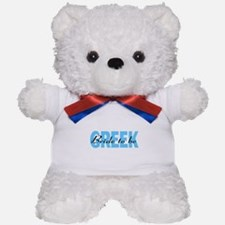 Greek Bride To Be Teddy Bear