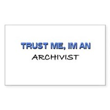 Trust Me I'm an Archivist Rectangle Decal