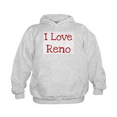 I love Reno Hoodie