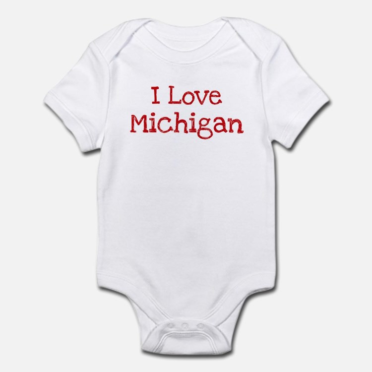I love Michigan Infant Bodysuit