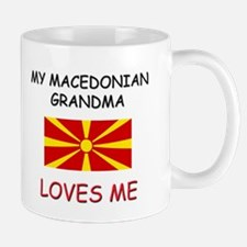 My Macedonian Grandma Loves Me Mug
