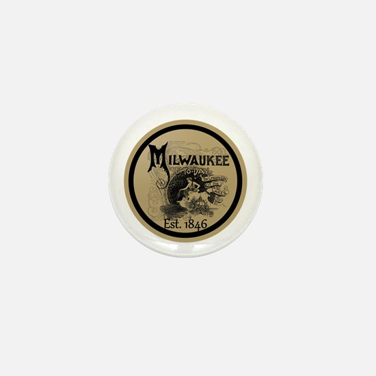 Unique Milwaukee wisconsin Mini Button