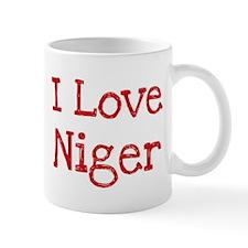 I love Niger Mug